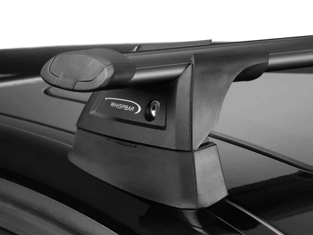 S16W WHISPBAR Black Through /1190mm