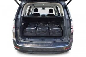 Ford Galaxy III MPV - 2015 en verder 7 seats; with 3rd row of seats folded down - Car-bags tassen F10901S