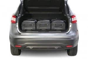 Nissan Qashqai (J11) SUV - 2014 en verder  - Car-bags tassen N10301S