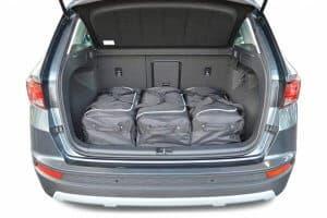 Seat Ateca (diepe laadvloer) SUV - 2016 en verder  - Car-bags tassen S30701S