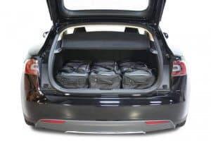 Tesla Model S 5d - 2012 en verder  - Car-bags tassen T20101S
