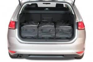 Volkswagen Golf VII (5G) Variant wagon - 2013 en verder for 5 seater & for 7 seater with 3rd row of seats folded down - Car-bags tassen V11501S