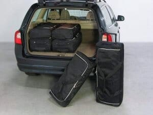 Volvo V70 (P24) wagon - 2007-2016 high boot floor: with organiser - Car-bags tassen V20201S