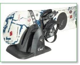 GEV SHARK 8944 magneet skidrager snowboardhouder afsluitbaar