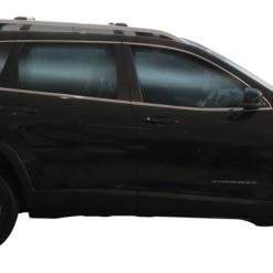 Whispbar Dakdragers (Zilver) Jeep Cherokee 5dr SUV met Dakrails bouwjaar 2014 – e.v.|Complete set Dakdragers
