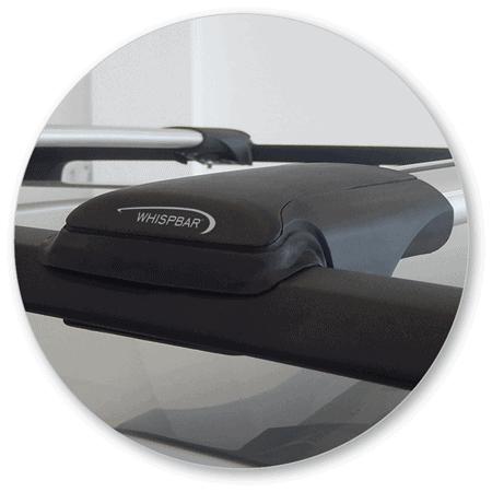 Whispbar Dakdragers Volvo XC70 5dr Estate met Dakrails bouwjaar 2013 - e.v.|Complete set dakdragers