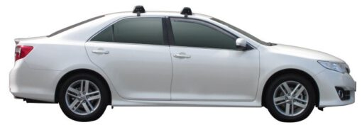 Whispbar Dakdragers (Zilver) Toyota Camry 4dr Sedan met Glad dak bouwjaar 2012 - e.v.|Complete set dakdragers