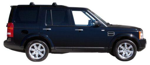 Whispbar Dakdragers Zilver Land Rover Discovery 5dr SUV met Track Mount bouwjaar 2004-2009 Complete set dakdragers