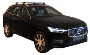 Whispbar Dakdragers (Black) Volvo XC60 5dr SUV met Geintegreerde rails bouwjaar 2017 - e.v.|Complete set dakdragers