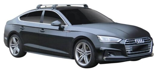 Whispbar Dakdragers (Zilver) Audi A5/S5/RS5 Sportback 5dr Coupe met Glad dak bouwjaar 2017 - e.v.|Complete set dakdragers