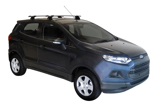 Whispbar Dakdragers (Zilver) Ford Ecosport 5dr SUV met Glad dak bouwjaar 2014 - e.v.|Complete set dakdragers