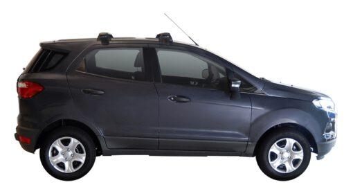 Whispbar Dakdragers (Zilver) Ford Ecosport 5dr SUV met Glad dak bouwjaar 2014 - e.v. Complete set dakdragers