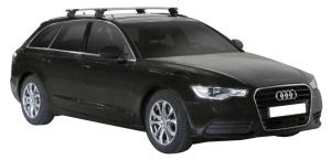 Whispbar Dakdragers (Zilver) Audi A6/S6/RS6 Avant 5dr Estate met Geintegreerde rails bouwjaar 2011 - e.v.|Complete set dakdragers
