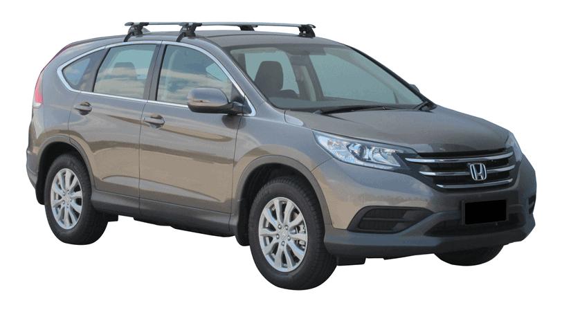Whispbar Dakdragers (Zilver) Honda CR-V S/SE 5dr SUV met Glad dak bouwjaar 2012 - 2017 Complete set dakdragers