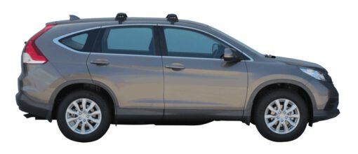Whispbar Dakdragers (Zilver) Honda CR-V S/SE 5dr SUV met Glad dak bouwjaar 2012 - 2017|Complete set dakdragers