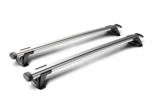 Whispbar Dakdragers (Zilver) Citroen DS5 5dr Hatch met Glad dak bouwjaar 2012 - 2015|Complete set dakdragers