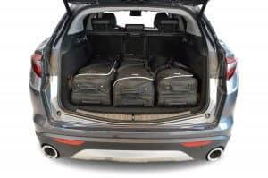 Alfa Romeo Stelvio 2016-heden Car-Bags reistassenset