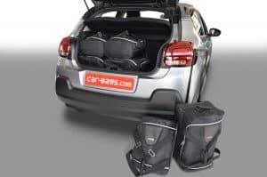 Citroën C3 III 2016-heden Car-Bags reistassenset