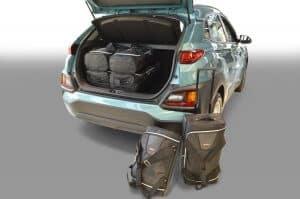 Hyundai Kona incl. Electric (OS) 2017-heden Car-Bags reistassenset