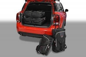 Mini Countryman (F60) 2016-heden Car-Bags reistassenset met Britse vlag logo