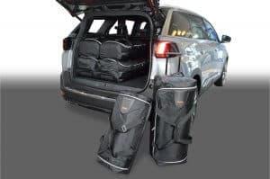 Peugeot 5008 II 2017-heden Car-Bags reistassenset