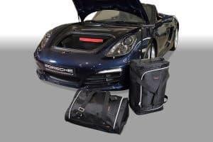 Porsche Cayman / Boxster (981) 2012-2016 Car-Bags reistassenset (2WD + 4WD)