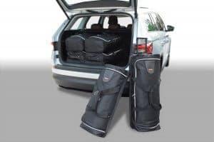 Skoda Kodiaq 2017-heden Car-Bags reistassenset (5-zits met reservewiel)
