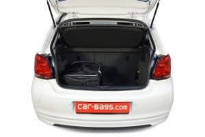 Volkswagen Polo V (6R & 6C) 2009-2017 3/5d Car-Bags reistassenset (L)