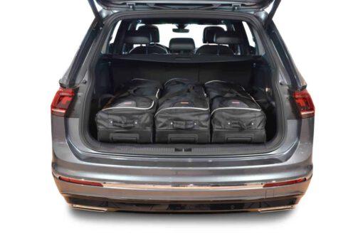 Volkswagen Tiguan II Allspace 2017-heden (5-zitter) Car-Bags reistassenset