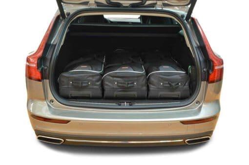 Volvo V60 incl. Plug-in-Hybrid 2018-heden Car-Bags reistassenset